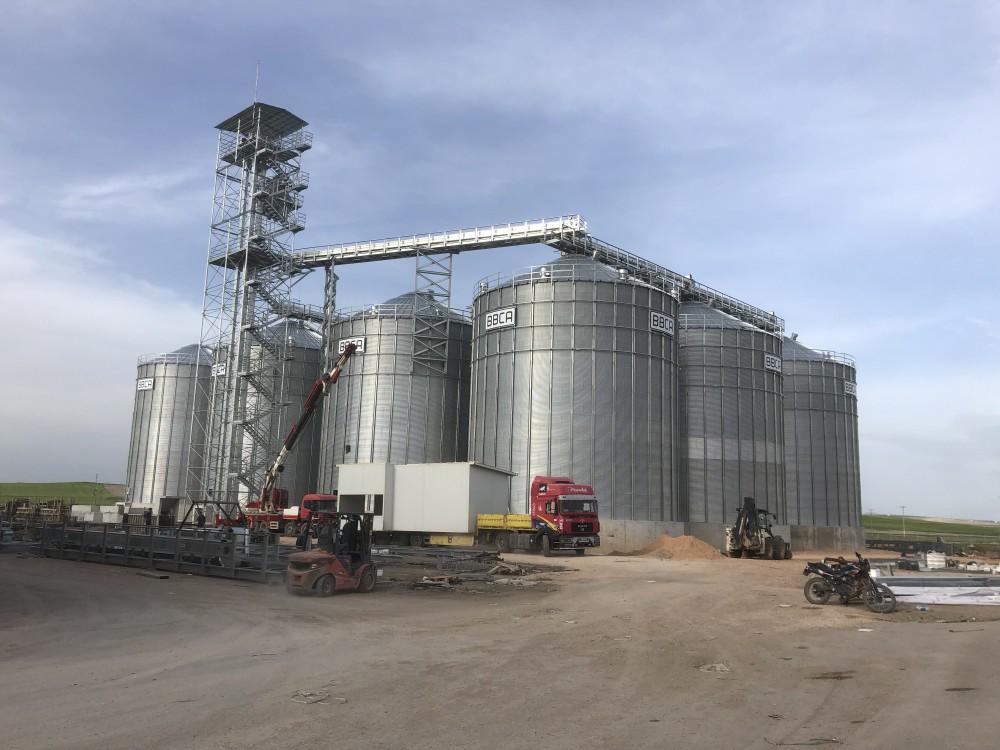 Altınbilek 14 Adet Buğday Silosu Yapımı    3MC Yapı