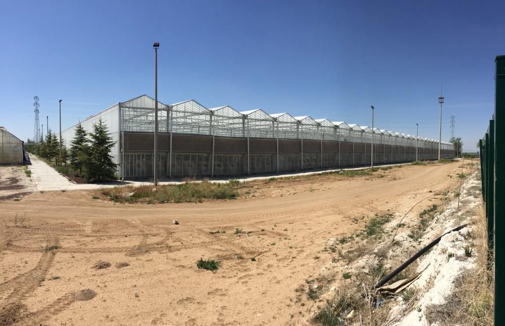Çumra Şeker Fabrikası Sera Temeli Yapımı    3MC Yapı