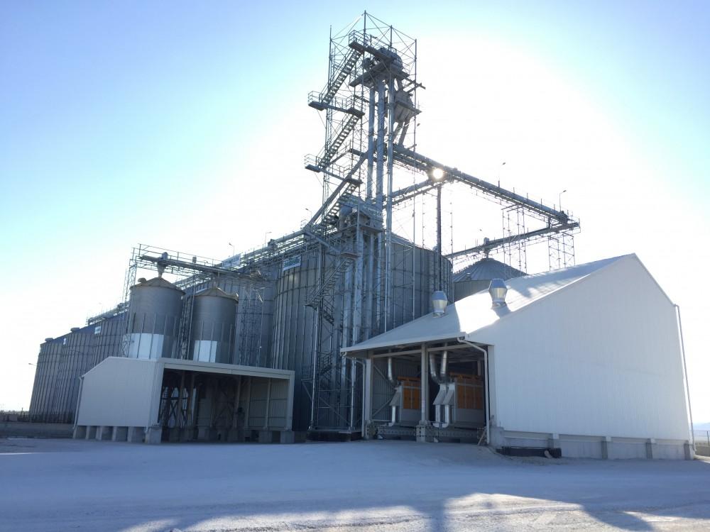 12 Adet Buğday Silosu Yapımı    3MC Yapı