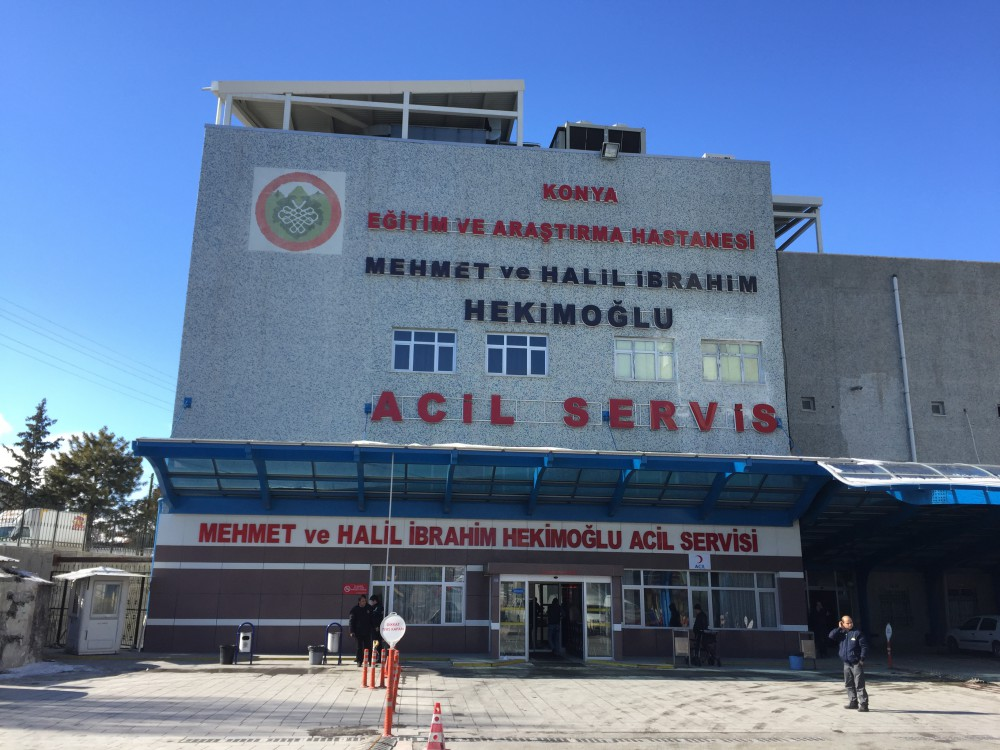 Konya E.A. Hastanesi Acil Servis Binası Yapımı    3MC Yapı
