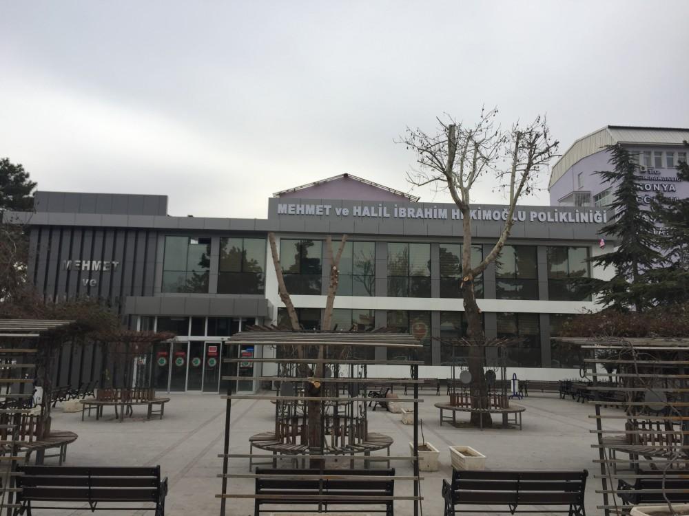 Konya Eğitim ve Araştırma Hastanesi Ek Poliklinik Hizmet Binası İnşaatı    3MC Yapı