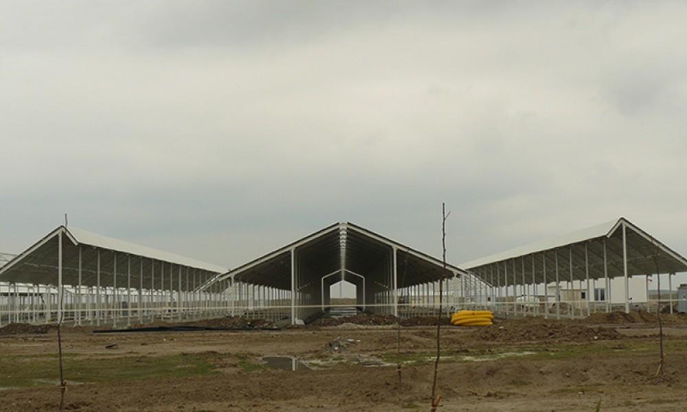 Konya Şeker A.ş. Taşağil Besi Çiftliği Yapımı    3MC Yapı