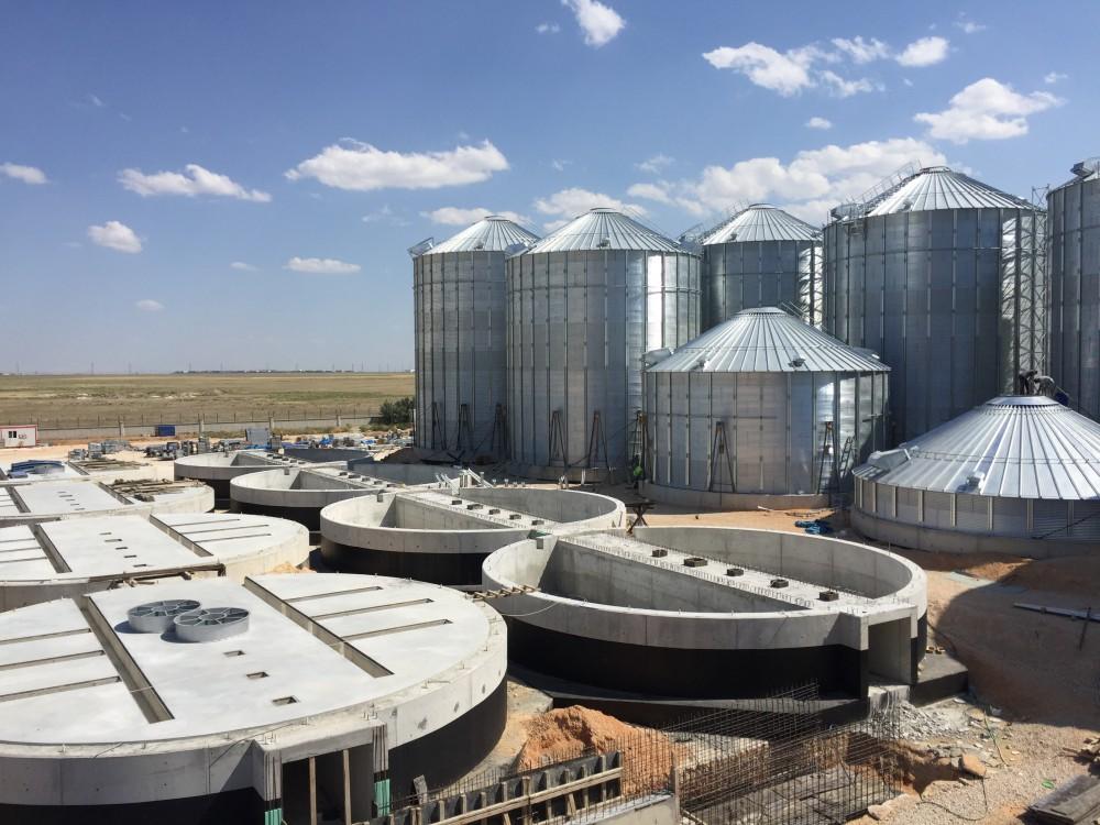 Ova Un 25 Adet Buğday Silosu Yapımı    3MC Yapı