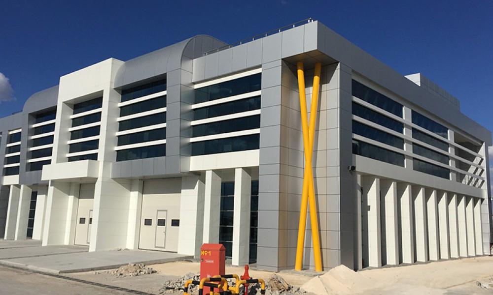 Panplast İdare Binası İnşaatı    3MC Yapı