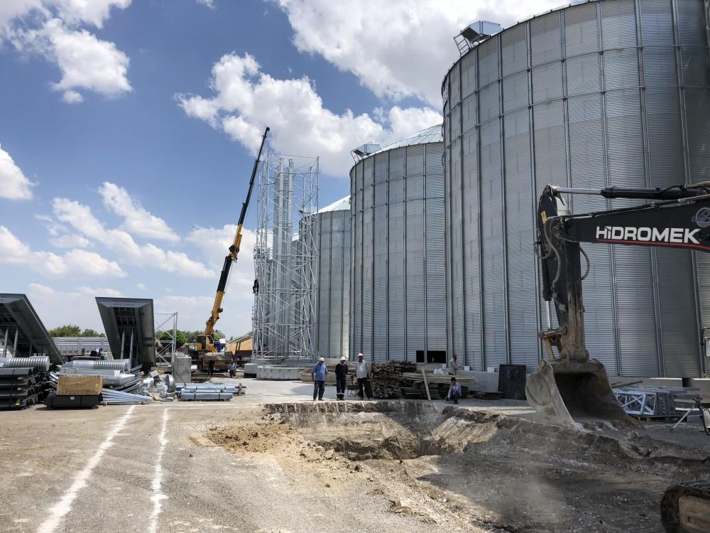 Yalçınoğulları Ltd.Şti. - Alaybeyi Un 18 Adet Buğday Silosu Yapımı    3MC Yapı