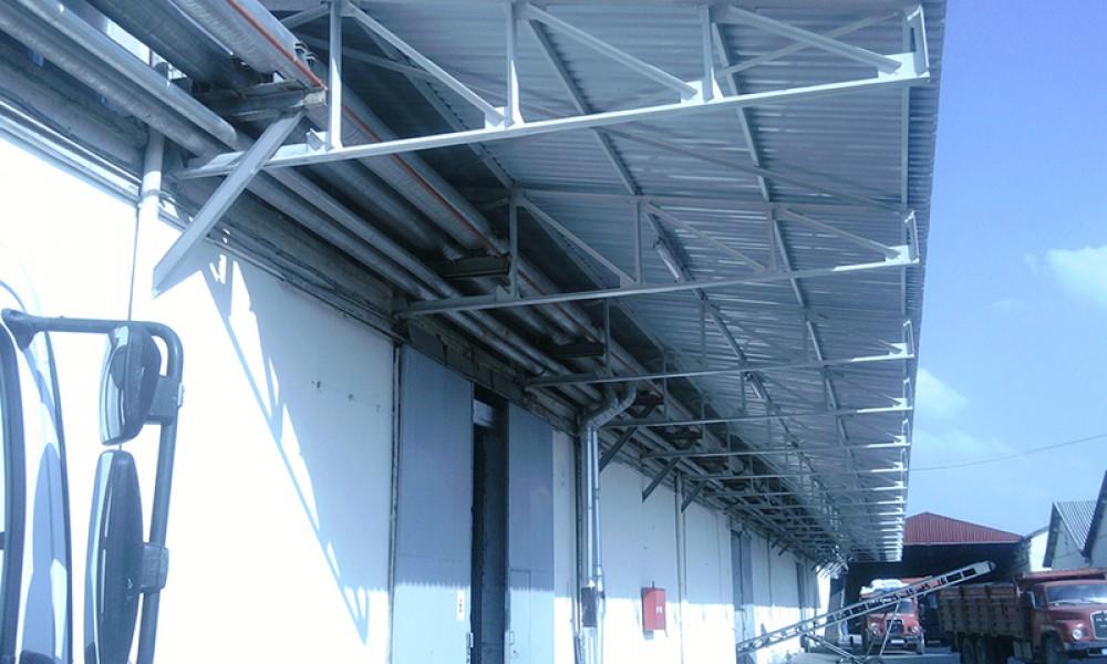 Yapısal Çelik Epoksili Sundurmalar Sökülüp Yeni Sundurma Yapılması    3MC Yapı