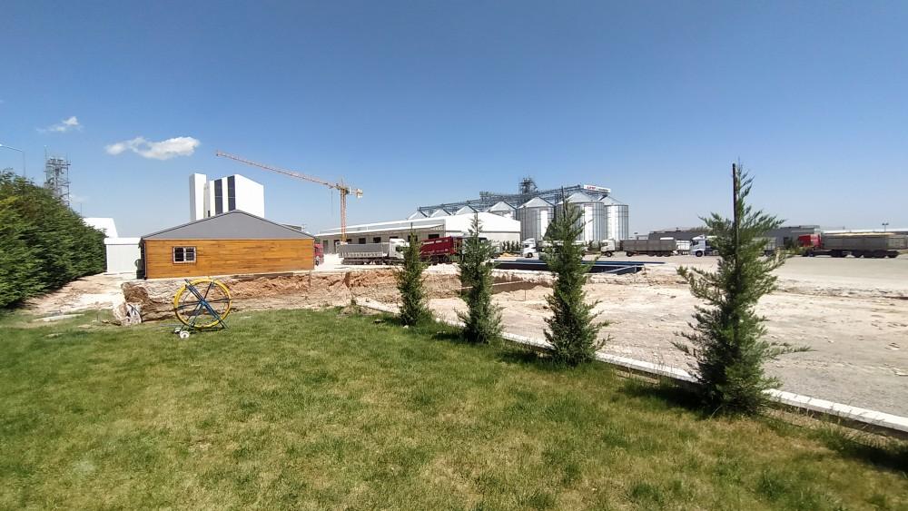 Hektar Hekimoğlu Tarım Ürünleri San. ve Tic. A.Ş. Flake Tesisi ve Sundurması ve Yatay Depoları || 3MC Structures