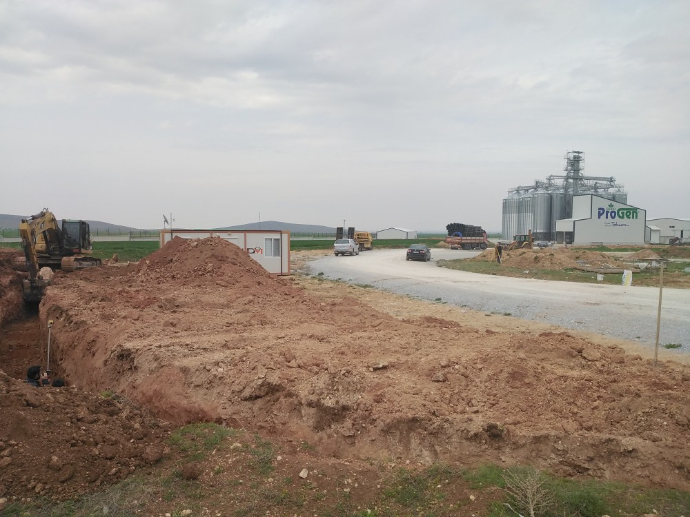 Progen Seed Cleaning Plant and Silo construction continues