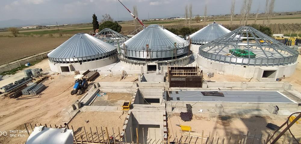 Teknik Tarım Lisanslı Depo Silo İnşaatı || 3MC Structures